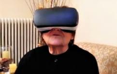 ΝΕΑ ΕΙΔΗΣΕΙΣ (Όταν η γιαγιά απ΄ την Κοζάνη φόρεσε τη μάσκα εικονικής πραγματικότητας του εγγονού της (ΒΙΝΤΕΟ))