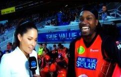 """ΝΕΑ ΕΙΔΗΣΕΙΣ (Αθλητής του κρίκετ την """"έπεσε"""" on air σε δημοσιογράφο! (ΒΙΝΤΕΟ))"""