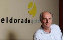 ΝΕΑ ΕΙΔΗΣΕΙΣ (Συνέντευξη Τύπου του προέδρου και CEO της Eldorado Gold  Πολ Ράιτ)