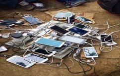 ΝΕΑ ΕΙΔΗΣΕΙΣ (Έτσι φορτίζουν οι πρόσφυγες τα κινητά τους (φωτο))