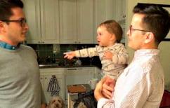 ΝΕΑ ΕΙΔΗΣΕΙΣ (Η ξεκαρδιστική στιγμή που μωρό βλέπει τον δίδυμο αδελφό του πατέρα του (ΒΙΝΤΕΟ))