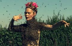 ΝΕΑ ΕΙΔΗΣΕΙΣ (Απίστευτο ΒΙΝΤΕΟ: Γυναίκα χορεύει με μπλουζάκι φτιαγμένο από 10.000 μέλισσες!)