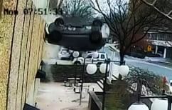 ΝΕΑ ΕΙΔΗΣΕΙΣ (Η σοκαριστική στιγμή που 23χρονη πέφτει με το αυτοκίνητο από το τέταρτο όροφο πάρκινγκ (ΒΙΝΤΕΟ))