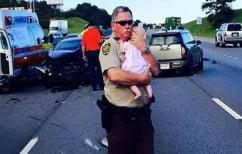 ΝΕΑ ΕΙΔΗΣΕΙΣ (Αστυνομικοί σώζουν μωρό που είχε αφυδατωθεί κλεισμένο σε αυτοκίνητο (ΒΙΝΤΕΟ))