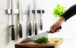 ΝΕΑ ΕΙΔΗΣΕΙΣ (Απίθανος σεφ με κλειστά μάτια παίζει το μαχαίρι στα δάχτυλα (ΒΙΝΤΕΟ))
