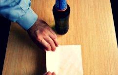 ΝΕΑ ΕΙΔΗΣΕΙΣ (Πώς να ανοίξετε ένα μπουκάλι μπύρας, χρησιμοποιώντας μόνο ένα φάκελο (ΒΙΝΤΕΟ))