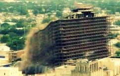 ΝΕΑ ΕΙΔΗΣΕΙΣ (Απίστευτο ΒΙΝΤΕΟ: Κτίριο καταρρέει σαν παιχνιδάκι)