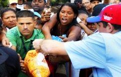 ΝΕΑ ΕΙΔΗΣΕΙΣ (Ποδοπατιούνται στα σούπερ μάρκετ για λίγα τρόφιμα στη Βενεζουέλα (ΒΙΝΤΕΟ))