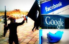 """ΝΕΑ ΕΙΔΗΣΕΙΣ (Facebook, Twitter και Google """"πολεμούν"""" το Ισλαμικό Κράτος)"""
