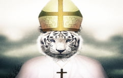 """ΝΕΑ ΕΙΔΗΣΕΙΣ (Ο Πάπας Φραγκίσκος διέκοψε την """"ιερή στιγμή"""" μιας τίγρης! (ΒΙΝΤΕΟ)"""