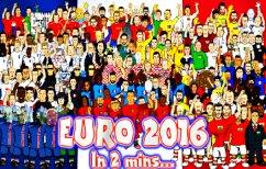 ΝΕΑ ΕΙΔΗΣΕΙΣ (Απολαυστικό ΒΙΝΤΕΟ: Το Euro 2016 σε 2 λεπτά!)