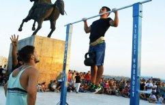ΝΕΑ ΕΙΔΗΣΕΙΣ (18χρονος από τη Θεσσαλονίκη κατέκτησε ρεκόρ Γκίνες στις έλξεις! (ΒΙΝΤΕΟ))