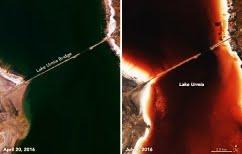 ΝΕΑ ΕΙΔΗΣΕΙΣ (Μυστήριο με την λίμνη που αλλάζει χρώμα – Από πράσινη γίνεται κατακόκκινη!)