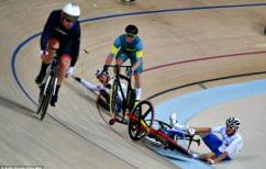 ΝΕΑ ΕΙΔΗΣΕΙΣ (Βρετανός ποδηλάτης κερδίζει το αργυρό μετάλλιο αφού προκαλέσει την σύγκρουση τριών αντίπαλων αθλητών)