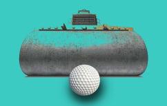 ΝΕΑ ΕΙΔΗΣΕΙΣ (Τι γίνεται όταν ένας οδοστρωτήρας πατάει μπαλάκια του γκολφ (ΒΙΝΤΕΟ))