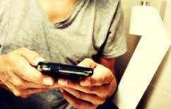 ΝΕΑ ΕΙΔΗΣΕΙΣ (Για ποιο λόγο δεν πρέπει να παίρνουμε το κινητό μαζί στην τουαλέτα)