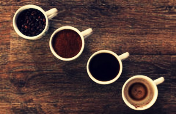 four-cups-coffee-four-phases-coffee-drink-bean-ground-empty-cup-64623105