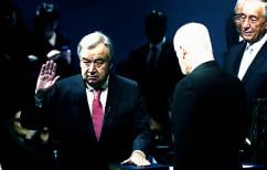 ΝΕΑ ΕΙΔΗΣΕΙΣ (O Antonio Guterres ορκίζεται νέος ΓΓ του ΟΗΕ)