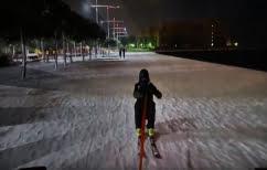 ΝΕΑ ΕΙΔΗΣΕΙΣ (Σκι στην Παραλία της Θεσσαλονίκης: Το video που έγινε viral)
