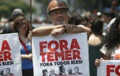 ΝΕΑ ΕΙΔΗΣΕΙΣ (Βραζιλία: Μαζικές διαδηλώσεις για την παραίτηση του Temer)