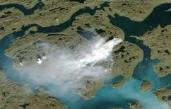 ΝΕΑ ΕΙΔΗΣΕΙΣ (Παράξενο πύρινο μέτωπο στην παγωμένη Γροιλανδία)