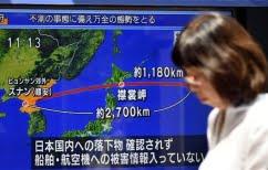 ΝΕΑ ΕΙΔΗΣΕΙΣ (Επικίνδυνα παιχνίδια-Η Βόρεια Κορέα εκτόξευσε πύραυλο πάνω από την Ιαπωνία)