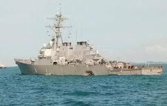 ΝΕΑ ΕΙΔΗΣΕΙΣ (Αμερική: Σύγκρουση αντιτορπιλικού με δεξαμενόπλοιο)