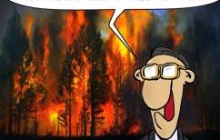 ΝΕΑ ΕΙΔΗΣΕΙΣ (Οι πυρκαγιές από τα μάτια του Αρκά)