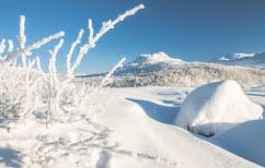 ΝΕΑ ΕΙΔΗΣΕΙΣ (Έπεσαν οι πρώτες νιφάδες χιονιού στη Σουηδία τον Αύγουστο)