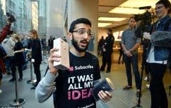 ΝΕΑ ΕΙΔΗΣΕΙΣ (Κοιμόταν στον δρόμο για να πάρει πρώτος το Iphone 8 και τώρα δεν το… θέλει)