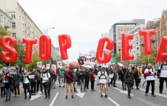 ΝΕΑ ΕΙΔΗΣΕΙΣ (Στο Ευρωπαϊκό Δικαστήριο η κυβέρνηση του Βελγίου κατά της CETA)