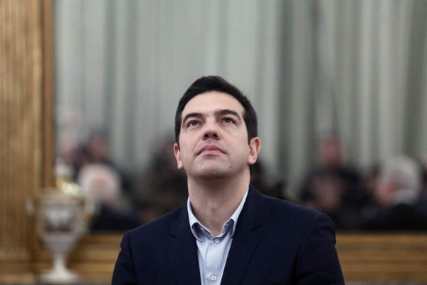Ceremony of the new Greek Government