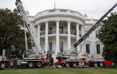 ΝΕΑ ΕΙΔΗΣΕΙΣ (Διχάζει τους Αμερικανούς η ανακαίνιση του Λευκού Οίκου-1,75 εκατ το κόστος)