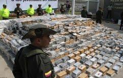 ΝΕΑ ΕΙΔΗΣΕΙΣ (Κολομβία:Κατάσχεθηκαν 12 τόνοι κοκαΐνης)