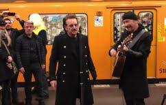 ΝΕΑ ΕΙΔΗΣΕΙΣ (Συναυλία «έκπληξη» σε μετρό του Βερολίνου πραγματοποίησαν οι U2 [vid])