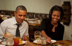 ΝΕΑ ΕΙΔΗΣΕΙΣ (H Μισέλ Ομπάμα τρώει σουβλάκι και αποθεώνει ελληνικό εστιατόριο)