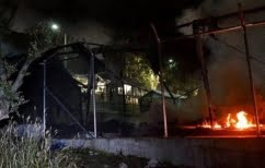 ΝΕΑ ΕΙΔΗΣΕΙΣ (Νύχτα επεισοδίων στον καταυλισμό της Μόριας με φωτιές και τραυματίες)