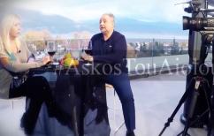 ΝΕΑ ΕΙΔΗΣΕΙΣ (Ο Σπύρος Ριζόπουλος στο ΒΗΜΑ Τηλεόραση και τη Λίζα Δουκακάρου)