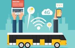 ΝΕΑ ΕΙΔΗΣΕΙΣ (Δίκτυο Wi-Fi θα εγκατασταθεί σε λεωφορεία, τρόλεϊ και τραμ)