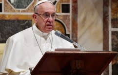 ΝΕΑ ΕΙΔΗΣΕΙΣ (Πάπας Φραγκίσκος: Ανησυχώ για την ένταση στην ανατολική Μεσόγειο)