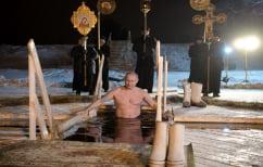 ΝΕΑ ΕΙΔΗΣΕΙΣ (Ρωσία: Ο Πούτιν βούτηξε σε παγωμένη λίμνη για τα Θεοφάνεια)