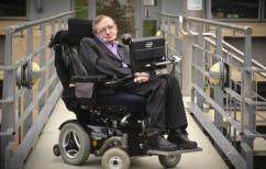 ΝΕΑ ΕΙΔΗΣΕΙΣ (Στίβεν Χόκινγκ: Ο άνθρωπος που θα ζούσε μέχρι τα 23 του… έκλεισε τα 76)