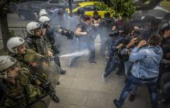 ΝΕΑ ΕΙΔΗΣΕΙΣ (Επεισόδια στο αντιπολεμικό συλλαλητήριο στο κέντρο της Αθήνας)