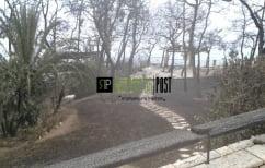 ΝΕΑ ΕΙΔΗΣΕΙΣ (Αποκλειστικές εικόνες από το ολοσχερώς καμένο σπίτι της Ζωζώς Σαπουντζάκη)