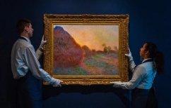 ΝΕΑ ΕΙΔΗΣΕΙΣ (Το νέο ρεκόρ για πίνακα του Μονέ είναι τα 110 εκατομμύρια δολάρια ~ Είχε αγοραστεί 2,5)