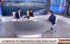 ΝΕΑ ΕΙΔΗΣΕΙΣ (Ανοιχτό το ενδεχόμενο των πρόωρων εκλογών άφησε ο Τσίπρας)