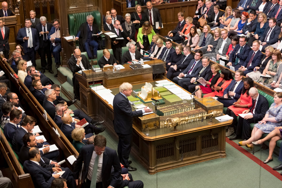 Prime Minister's Questions (PMQs) at the House of Commons