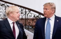 ΝΕΑ ΕΙΔΗΣΕΙΣ (Τζόνσον σε Τραμπ: Να μείνεις μακριά από τις εκλογές της Βρετανίας)
