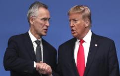 ΝΕΑ ΕΙΔΗΣΕΙΣ (ΝΑΤΟ: Ο Στόλτενμπεργκ συμφώνησε με Τραμπ για «μεγαλύτερη συνεισφορά» των συμμάχων στη Μέση Ανατολή)