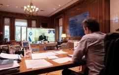 ΝΕΑ ΕΙΔΗΣΕΙΣ (Κορωνοϊός: Συμμετοχή Μητσοτάκη σε τηλεδιάσκεψη ηγετών που απέκρουσαν την πανδημία)